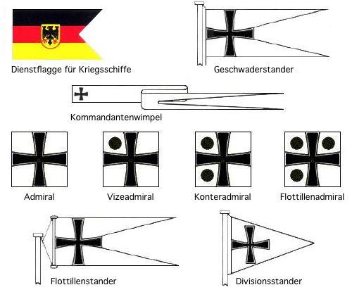 admirale der bundesmarine
